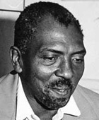 My friend and teacher, Etheridge Knight (1931-1991), poet